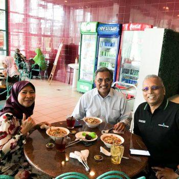KTP lunch with Ir Pramod Kumar of Sarawak Energy