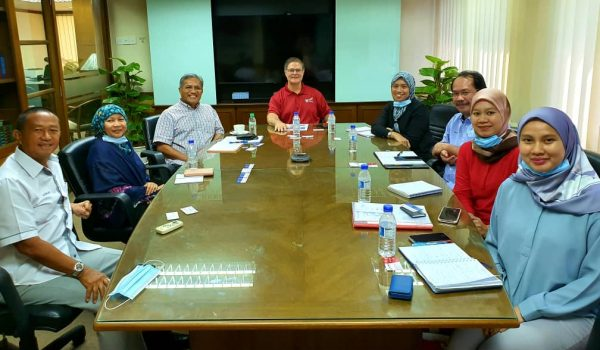 KTP meeting with Johor Skills Development Centre and SSPC
