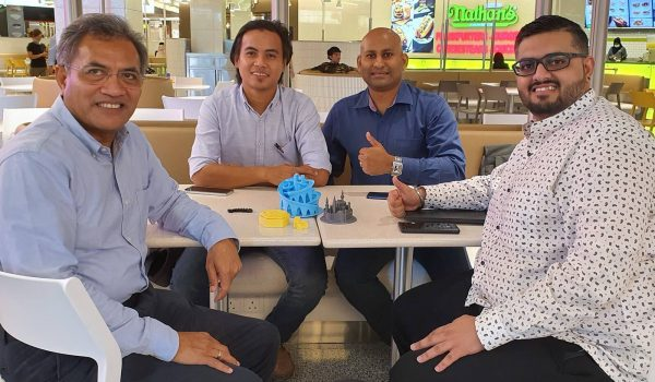 KTP meeting with Voltech Synergy Sdn Bhd on 3D Printing