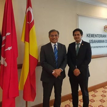 Meeting at Ministry of Entrepreneur Development and Cooperative (1)
