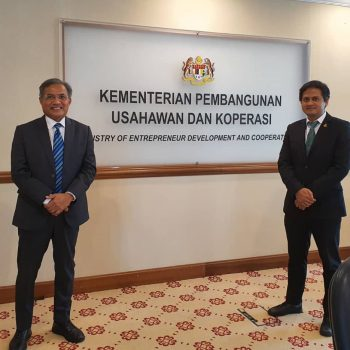 Meeting at Ministry of Entrepreneur Development and Cooperative (4)