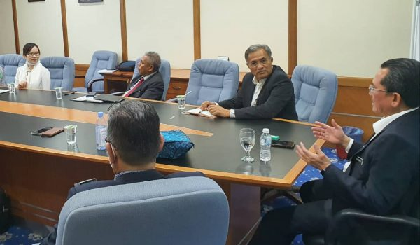 Meeting at Ministry of Entrepreneur Development and Cooperative