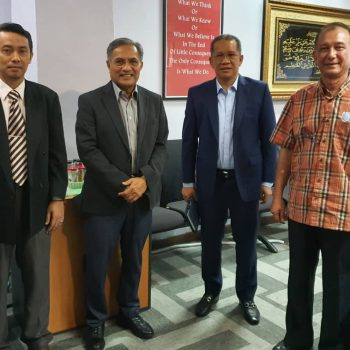 Meeting with Chief Minister Incorporated Melaka